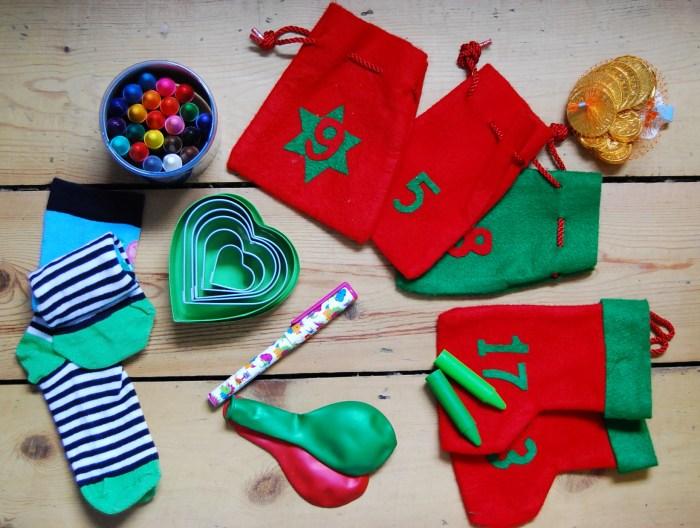 Advent calendar small child