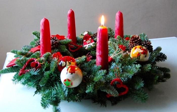 Advent wreath 1