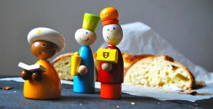 Rosca de Reyes the kings