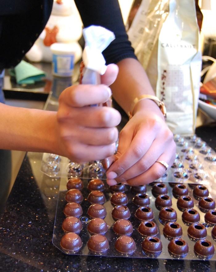 rum truffles filling