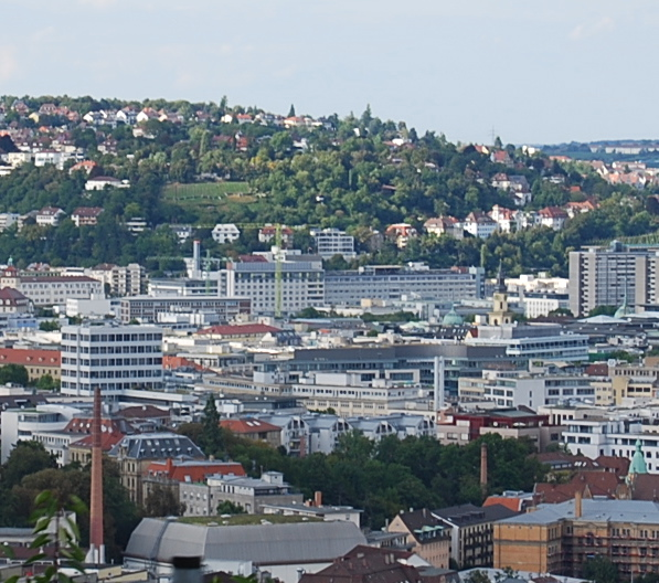 Stuttgart city centre