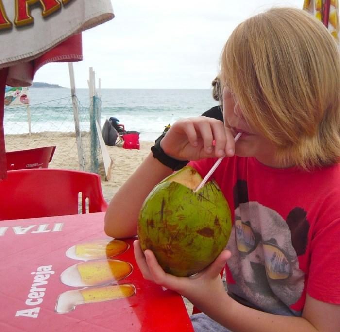 Coconuts in Ipanema