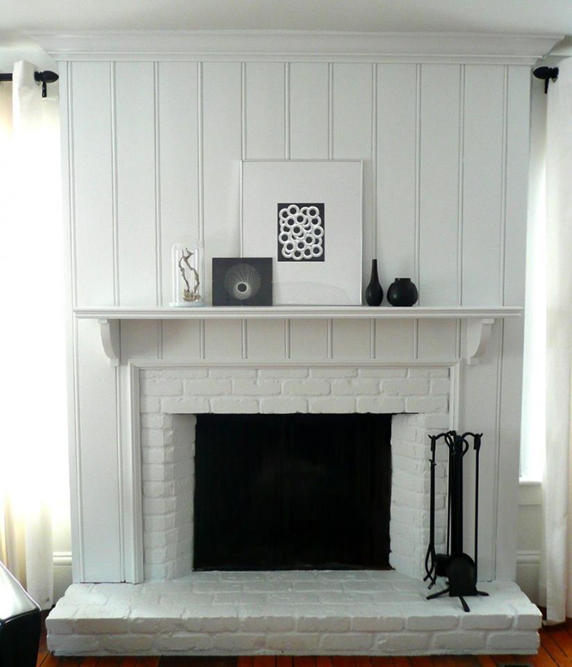 DIY  Amazing step by step polystyrene Fireplace   gingerandfat