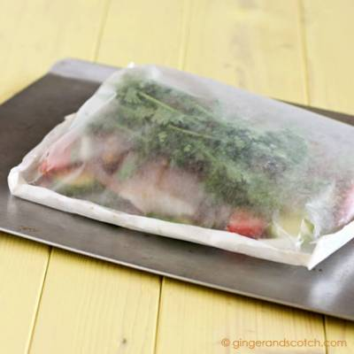 Easy-Peasy Recipe: Fish in a Bag!