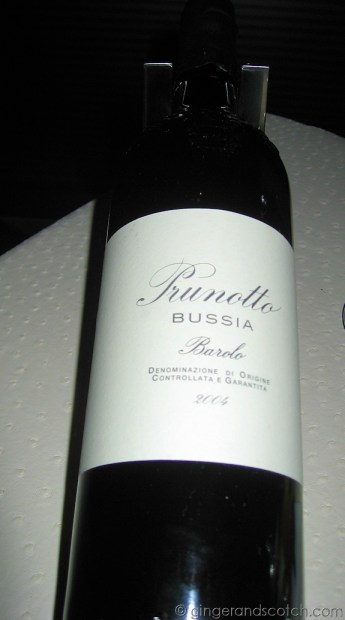 Barolo @ Vu's Restaurant - Jumeirah Emirates Towers