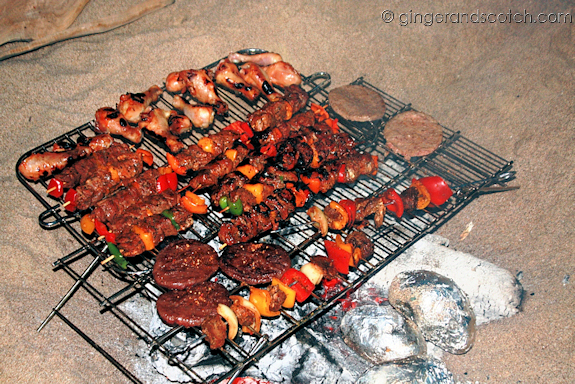BBQ Dinner - yum!