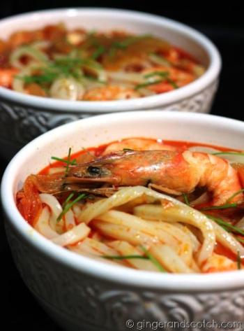 kimchi udon soup