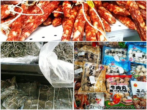 Wen Zhou food items - Dubai Chinese grocery store