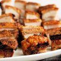 Chinese roast pork crackling
