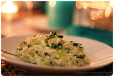Smoked Haddock, Leek and Spinach Risotto