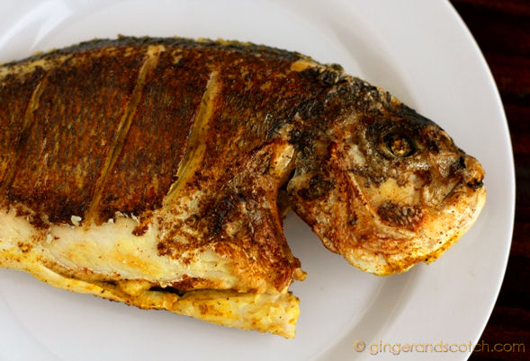 Emirati fried fish