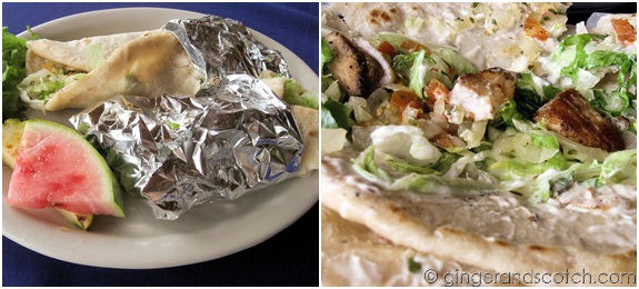 Fish Tacos @ Lighthouse Restaurant