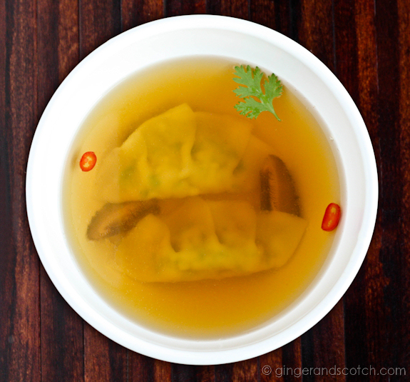 Golden Chicken Consomme