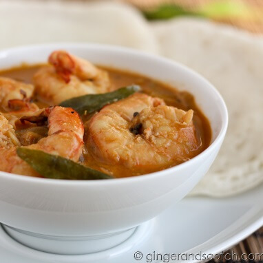 Cooking Challenge: Homemade Appams and a Spicy Shrimp Curry