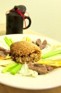 black tea Hades rice (c?m âm ph? trà ?en)