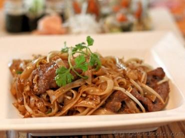 Malaysian Black Bean Stir-fried Rice Noodles