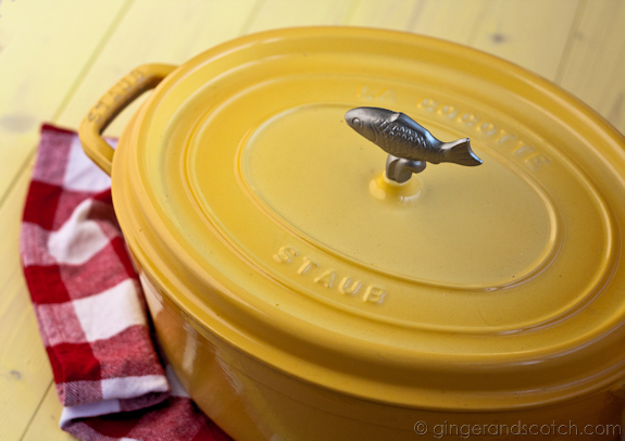 Staub French Oven in Yellow
