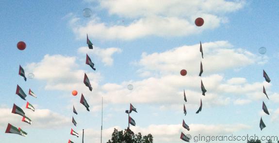 UAE National Day Decorations