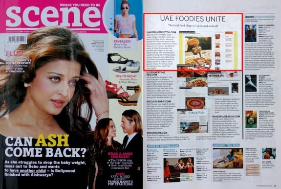 Scene Magazine - April 2012