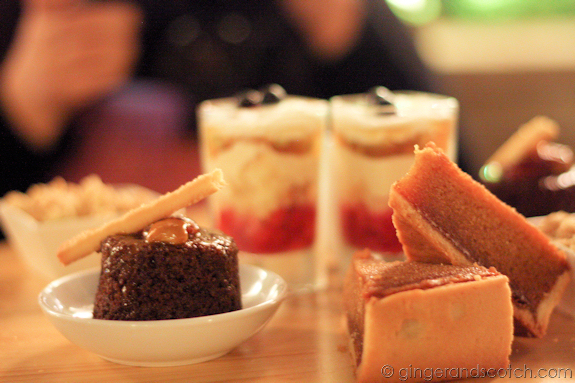Desserts at the Wharf, Madinat Jumeirah