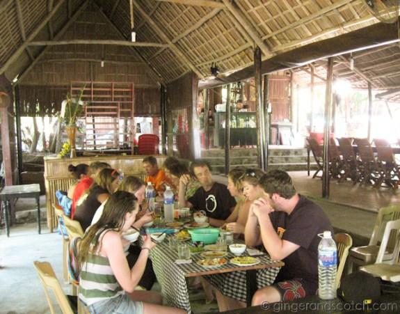 Cham Island lunch