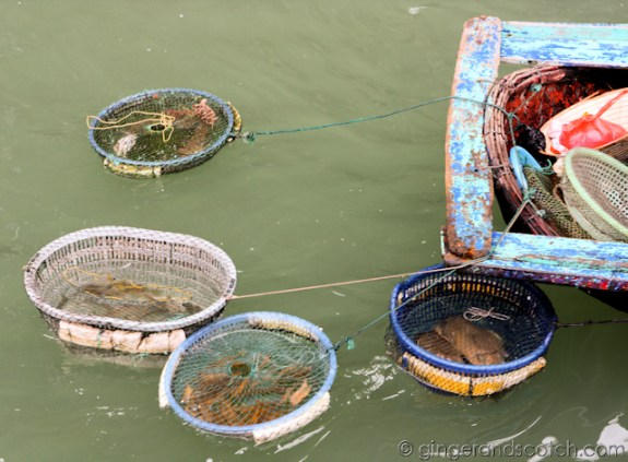 Seafood stall