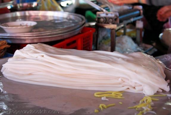 Hoi An Market - Noodles 2