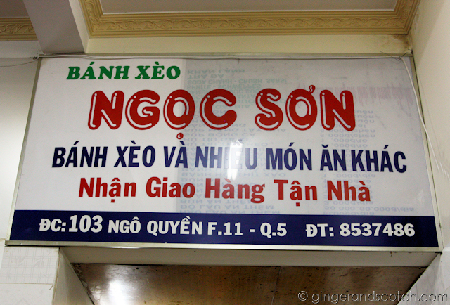 Ngoc Son Restaurant - Saigon