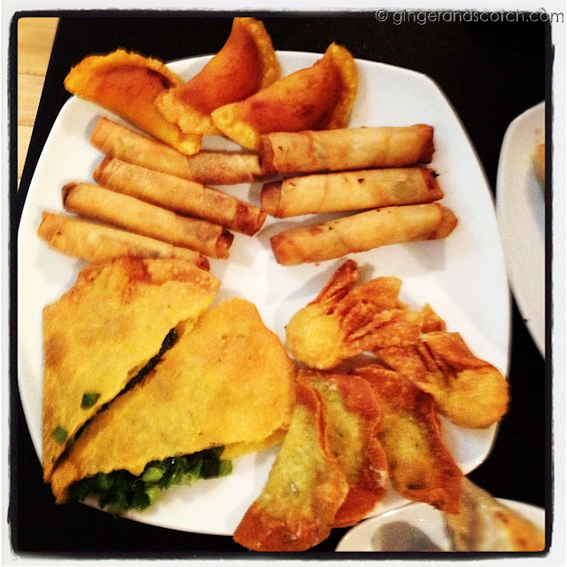 Fried Dim Sum at Da Shi Dai