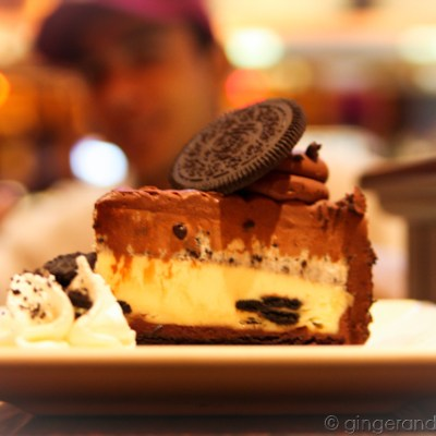 It's all about the Oreo Cheesecake, Baby @ the Cheesecake Factory, Dubai Mall