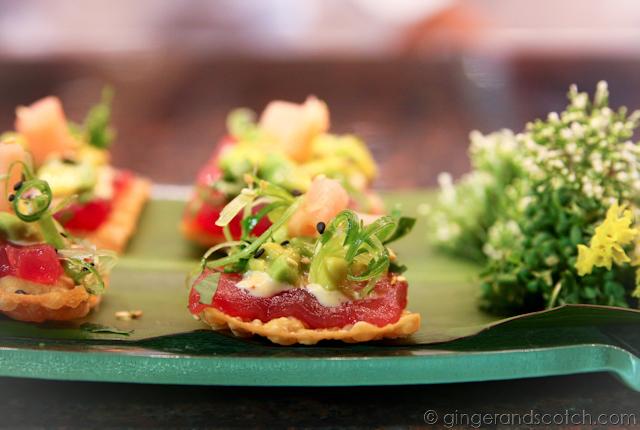 Ahi tuna tartar @ Cheesecake Factory Dubai