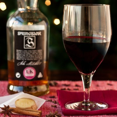 Mulled Wine – with a Ginger and Scotch twist