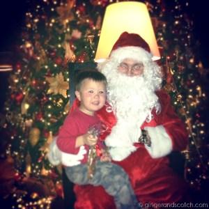 Santa at Christmas Market - Jumeirah Creekside Hotel