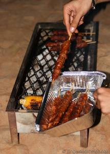 camping kebabs