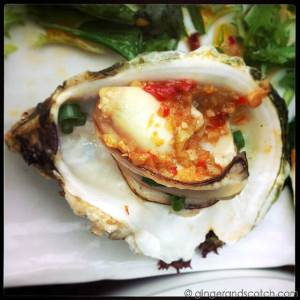 Huge Grilled Oysters @ ? 8 ?