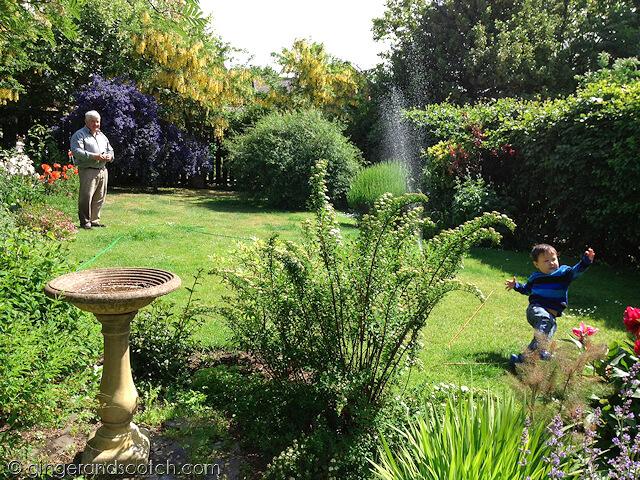 Dunbar Garden - skipping