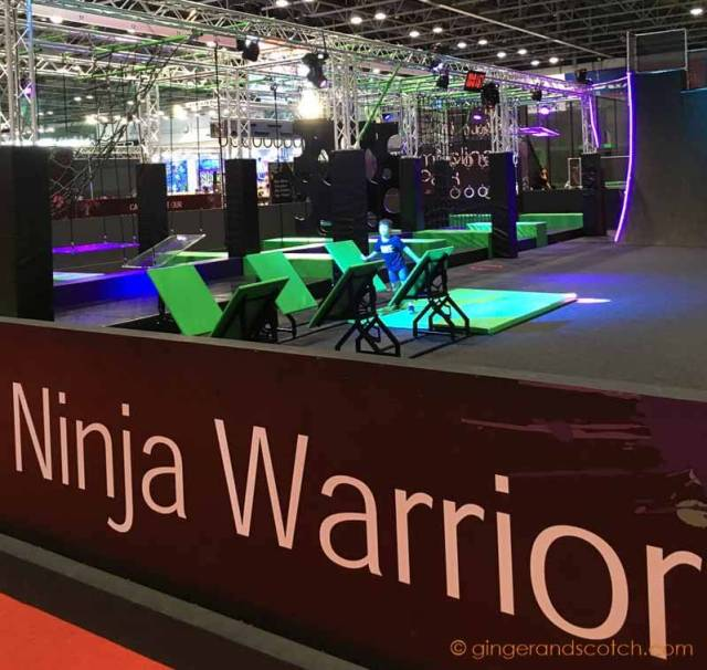 Ninja Warrior Obstacle Course at Dubai Sports World at Dubai World Trade Centre
