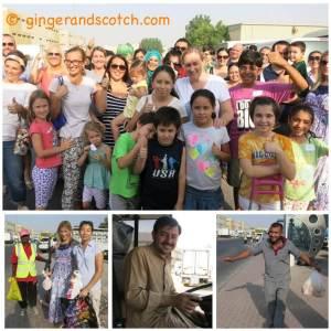 Volunteering in Dubai:  Helping Laborers Eat Healthy