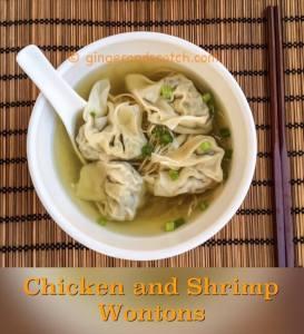 Chicken and Shrimp Wontons