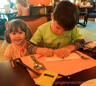 Kids coloring at Hoi An