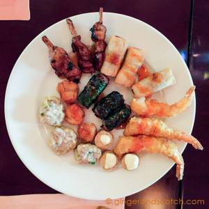 Assorted Vietnamese appetizers