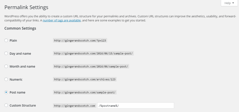 Permalink - Screenshot