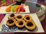Shang Palace - Egg Tarts and Fruit Dessert