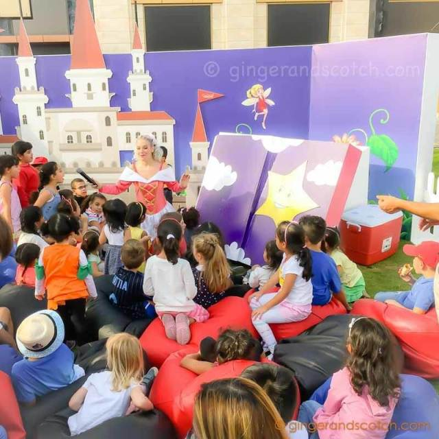 Giant Book Storytelling