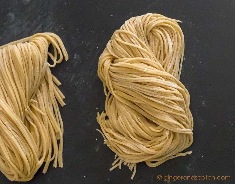 How to Make Chinese Egg Noodles From Scratch - Ginger and ...