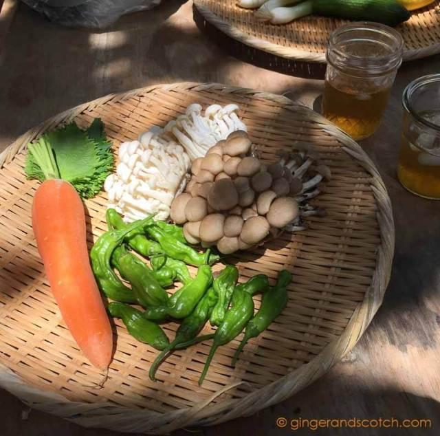 Soba Broth Ingredients