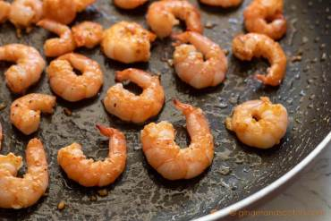Sauteed Shrimp for Lo Mein