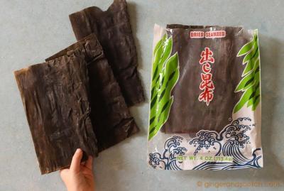 Kombu (or Konbu) for making dashi