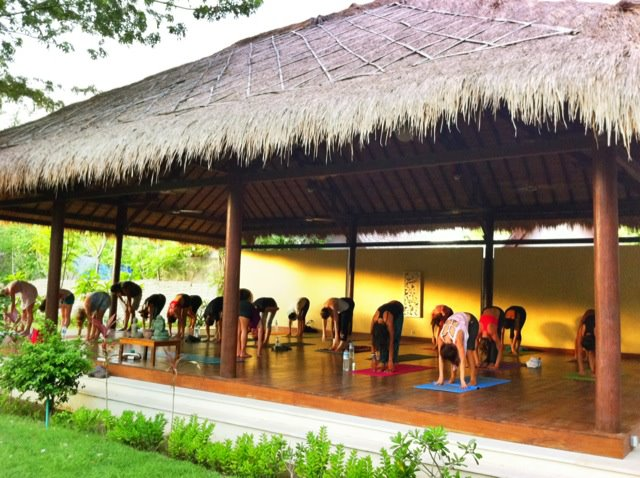 yoga en las gili