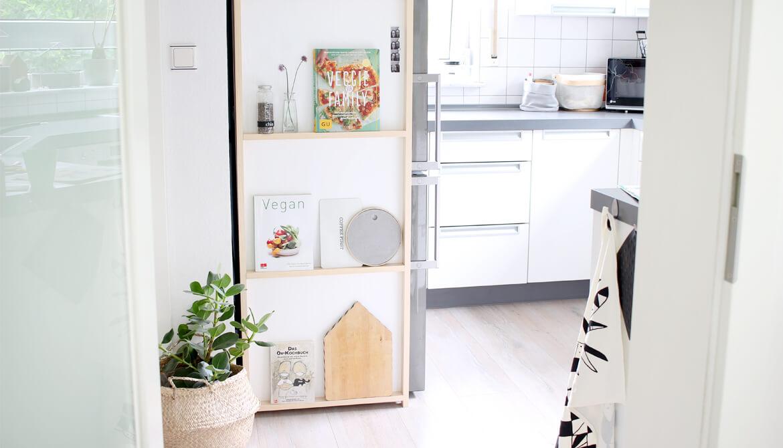 Top Dunkle Küche Weiß Streichen | Treppenhaus Im Altbau » So QA01